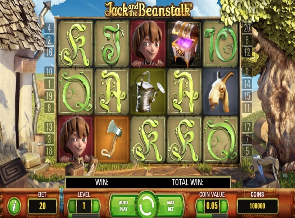 Jack and The Beanstealk Free Slot Machine